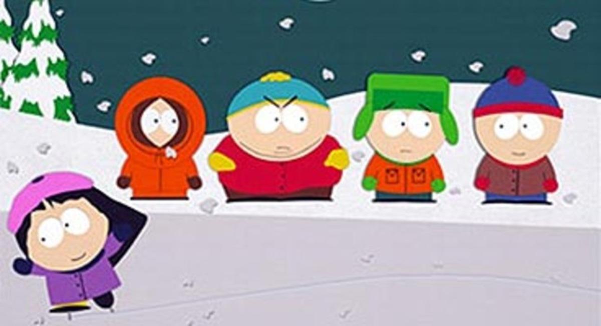 Los protagonistas de la serie 'South Park'.