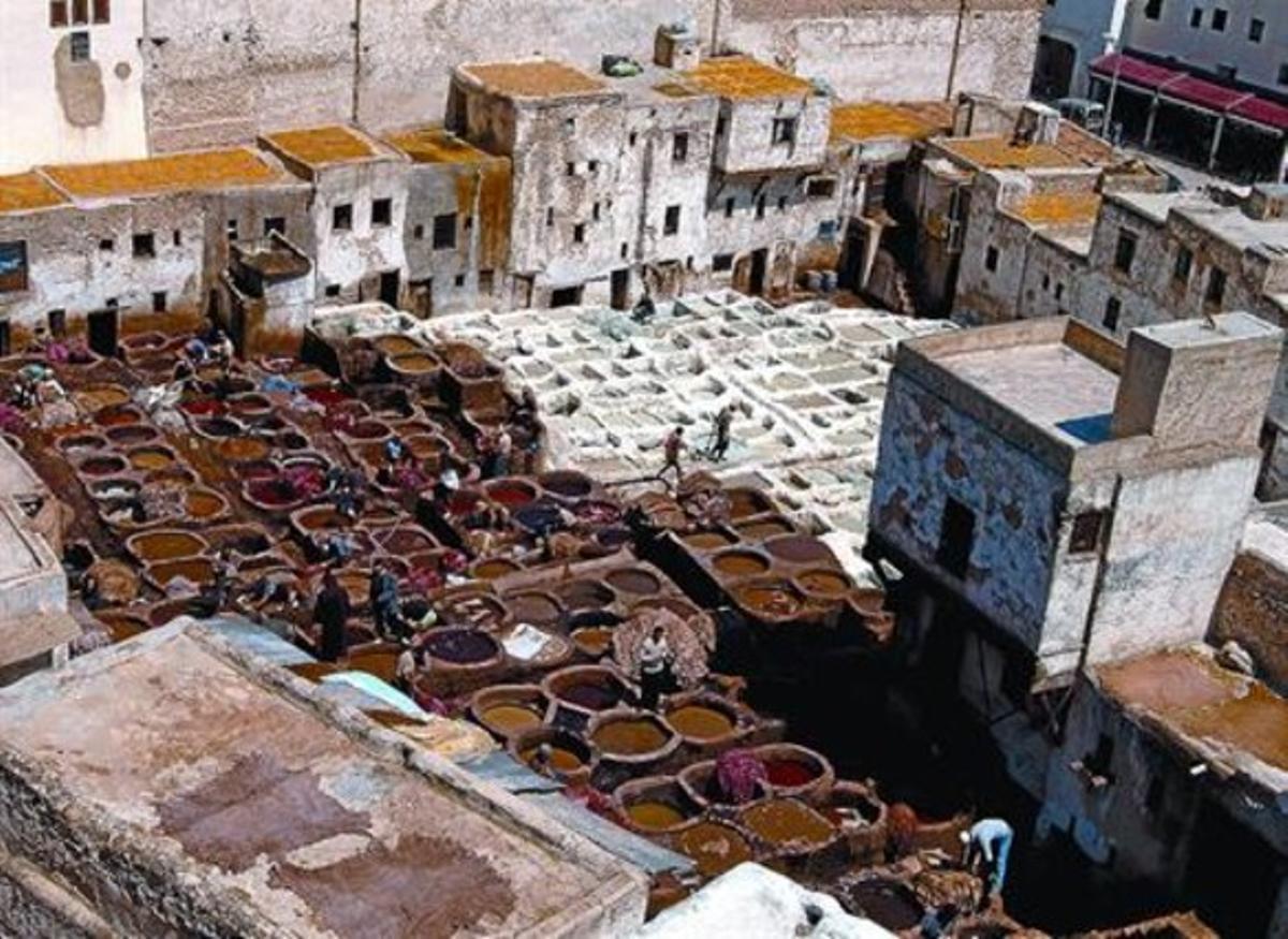 La Medina de Fez, en Marruecos.