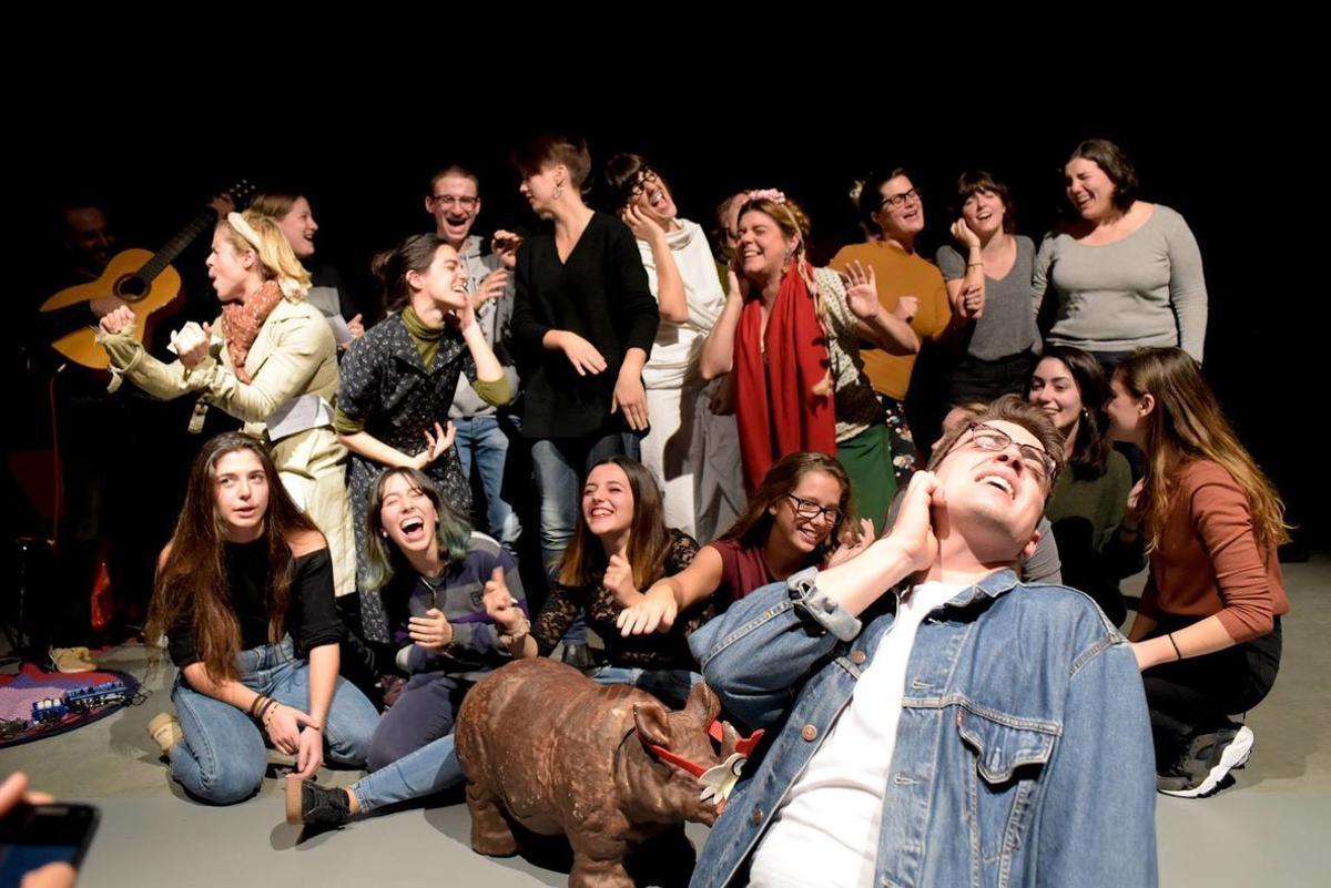 Los jóvenes son los protagonistas de este festival teatral.