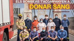 Imagen promocional de la campaña #bombersambcor