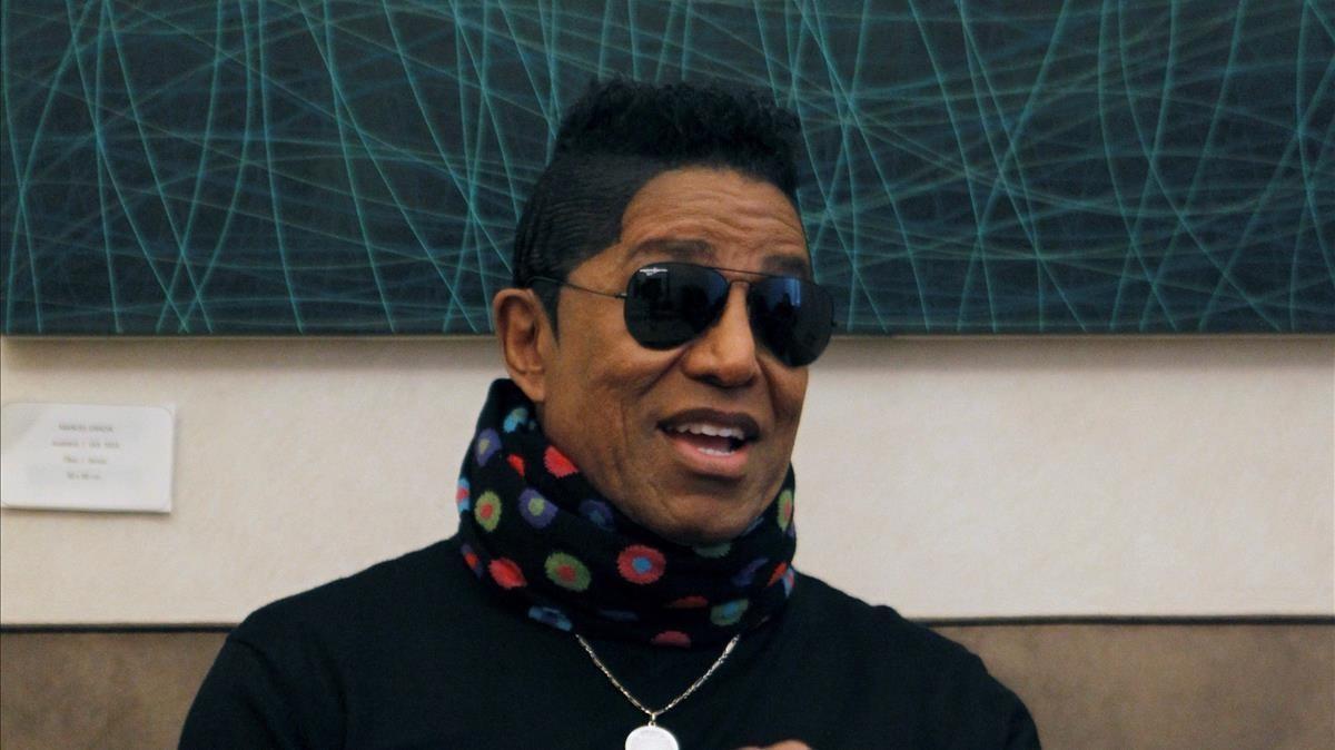 Jermaine Jackson, en Madrid, donde asistirá al estreno de 'Forever'.