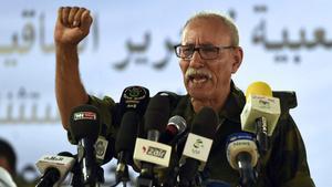 Brahim Ghali, secretario general del Frente Polisario, en una imagen de archivo.