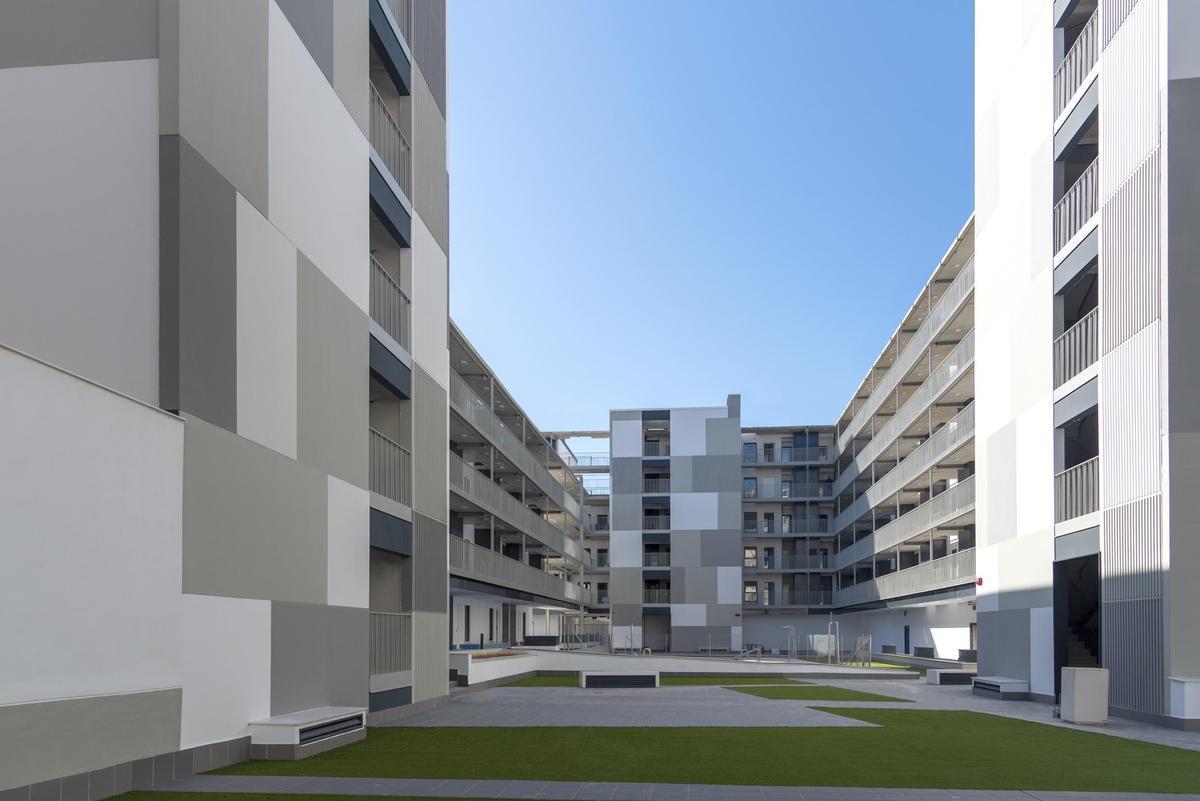 Ejemplo de vivienda industrializada del Grupo Avintia