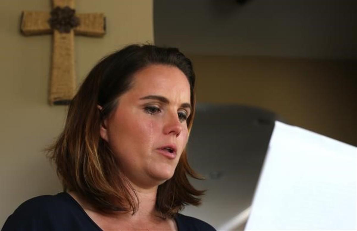 Amy Quinn, en su casa, en Raeford (Carolina de Norte).