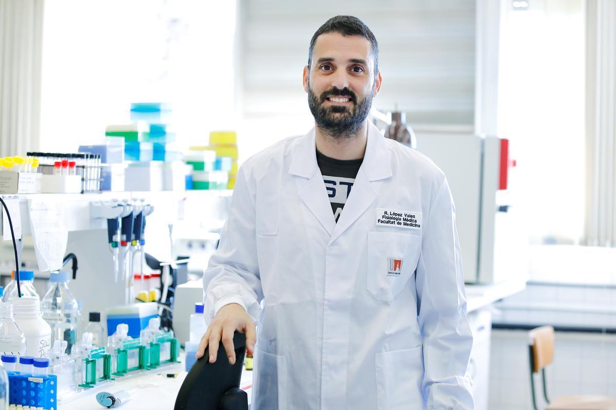 Rubèn López Valés, catedrático del Departamento de Biología Celular, Fisiología e Inmunología e investigador del Instituto de Neurociencias de la UAB.