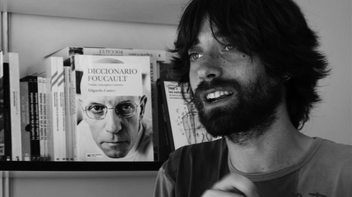 El escritor santanderino Juan Gómez Barcena.