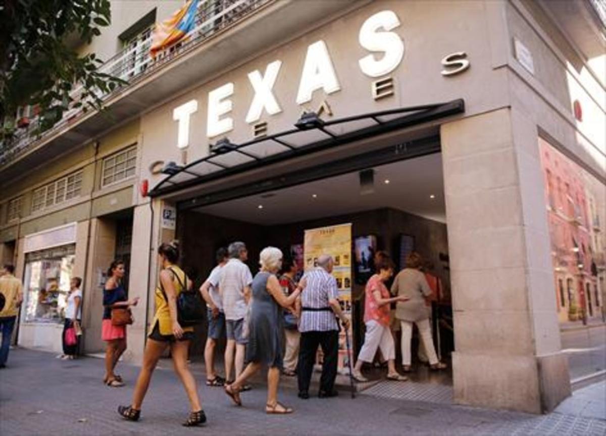 Los Cinemes Texas, ubicados en la calle Bailèn.