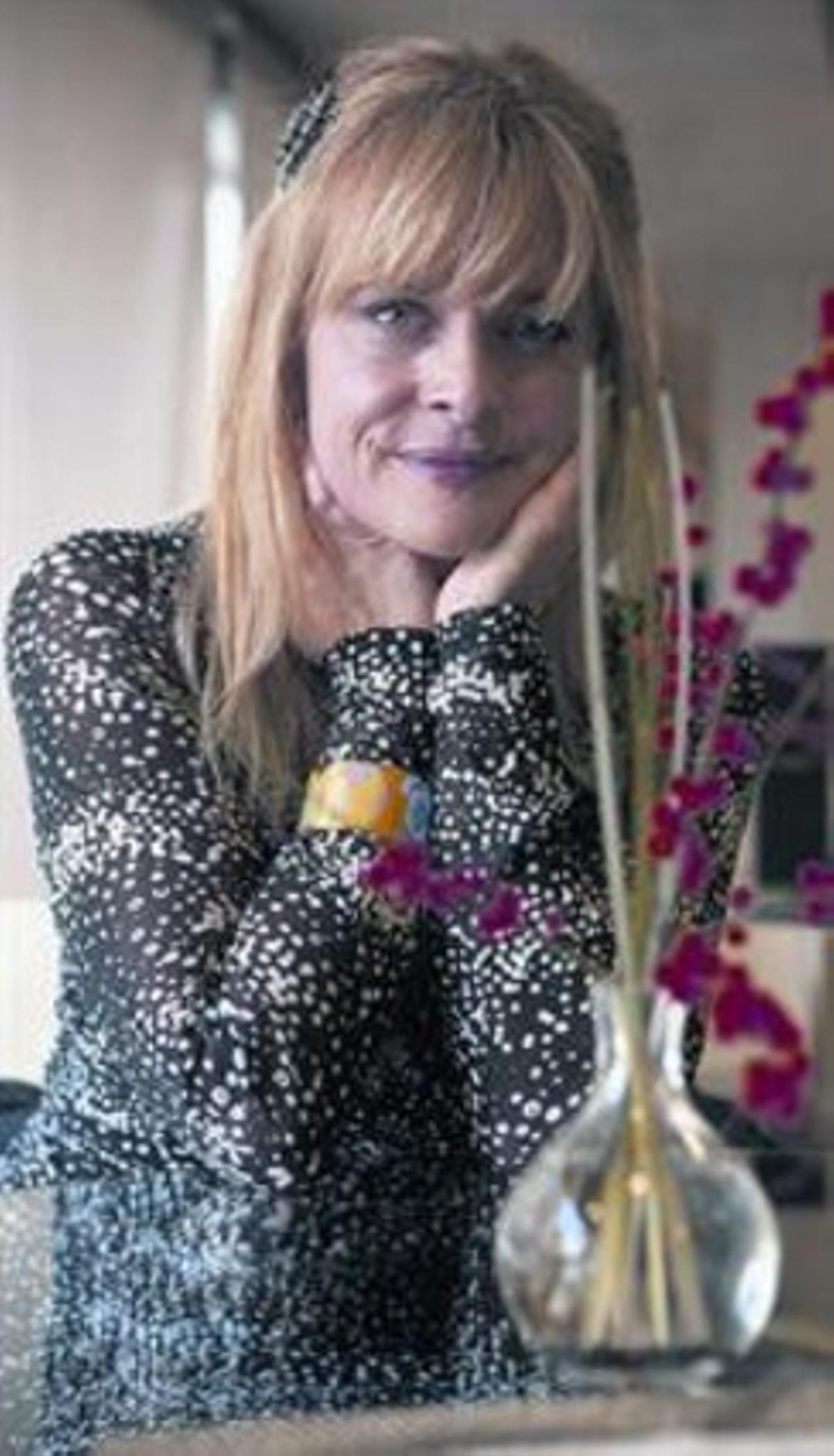 La actriz Nastassja Kinski, ayer, en Barcelona.