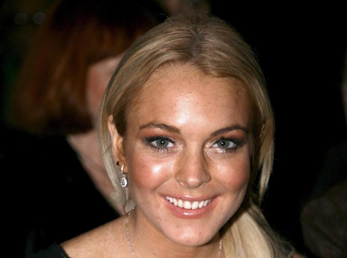 Una foto de archivo de Lindsay Lohan.