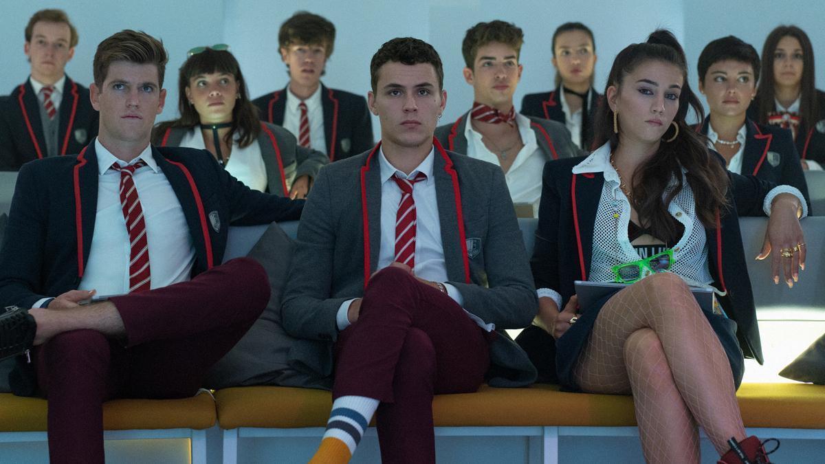Netflix enseña nuevas imágenes de la cuarta temporada de 'Élite' y desvela su fecha de estreno