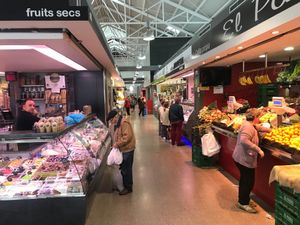 Imagen de archivo del mercado de Santa Coloma de Gramenet.