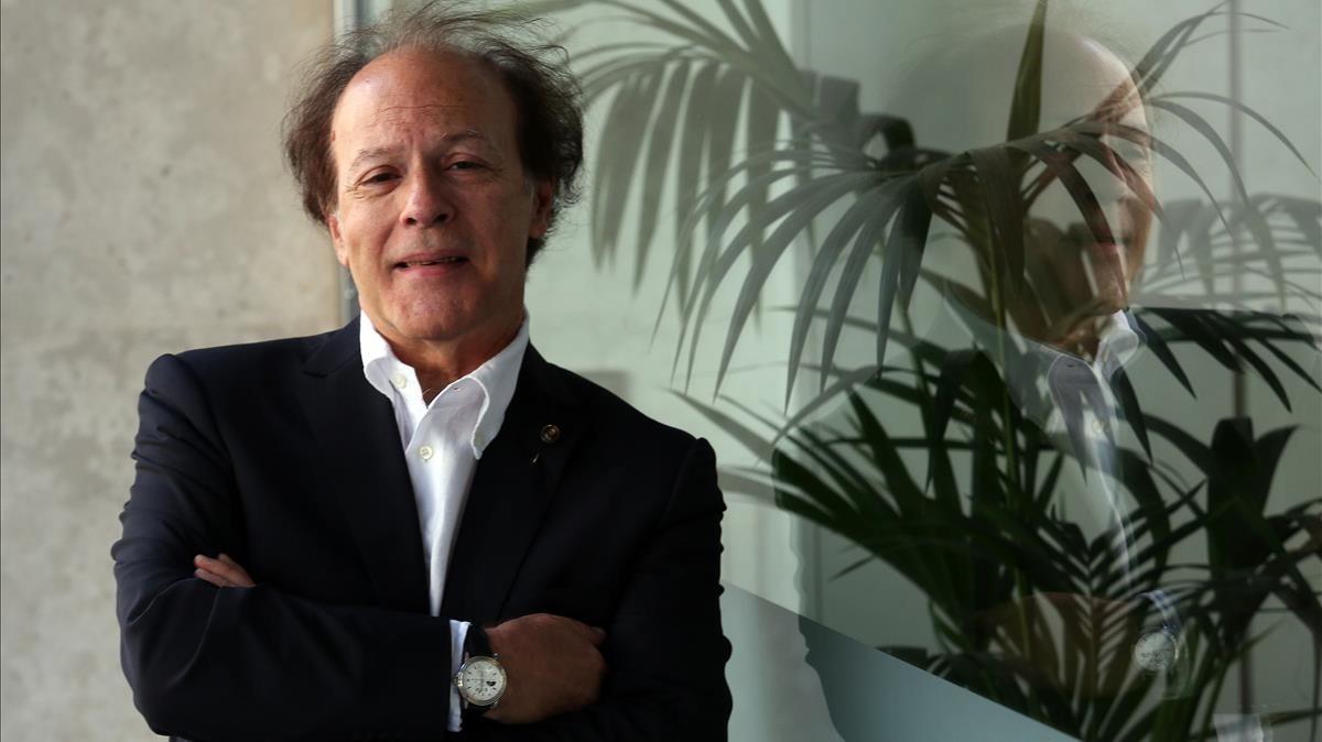 El escritor madrileño Javier Marías, en el 2017.