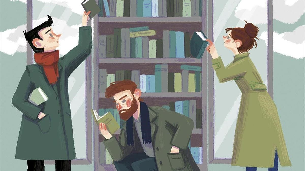 Las cosas que olvidamos en los libros