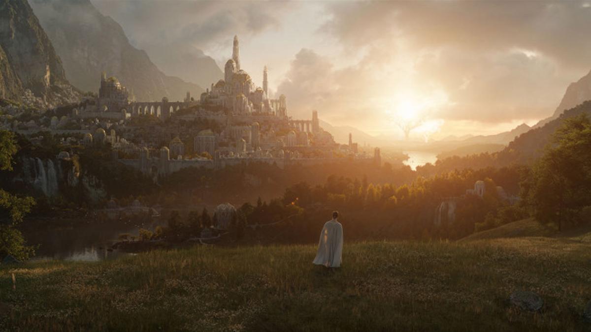 Primera imagen de la serie de Amazon Prime 'El señor de los anillos'