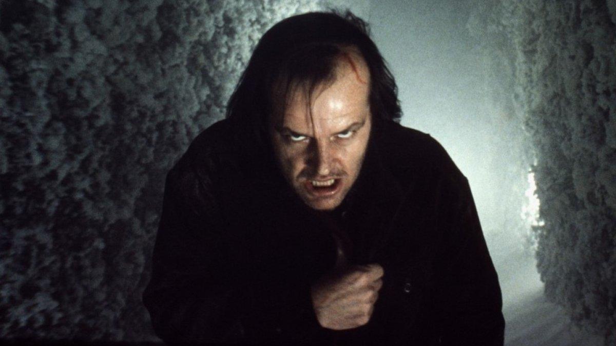 Jack Nicholson, en 'El resplandor', de Stanley Kubrick