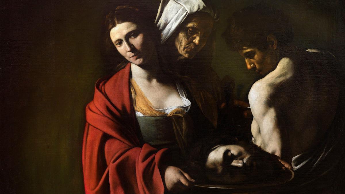 'Salomé con la cabeza de Juan Bautista', de Caravaggio