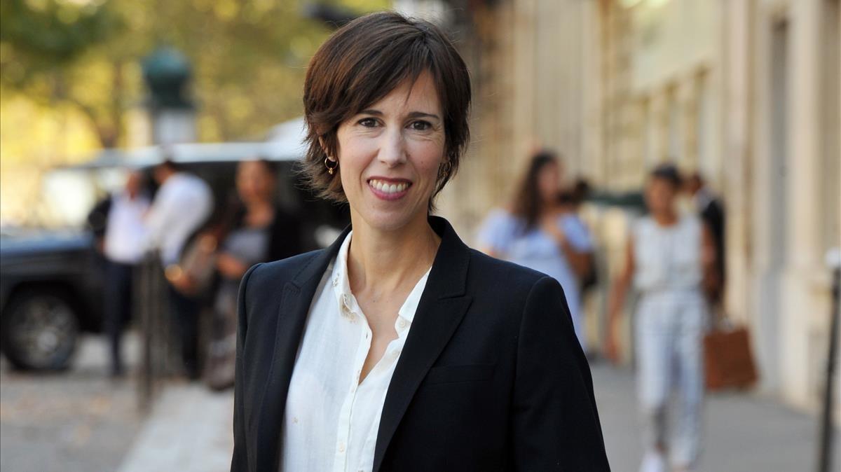 Laetitia Colombani: La societat planteja a les dones desafiaments enormes.