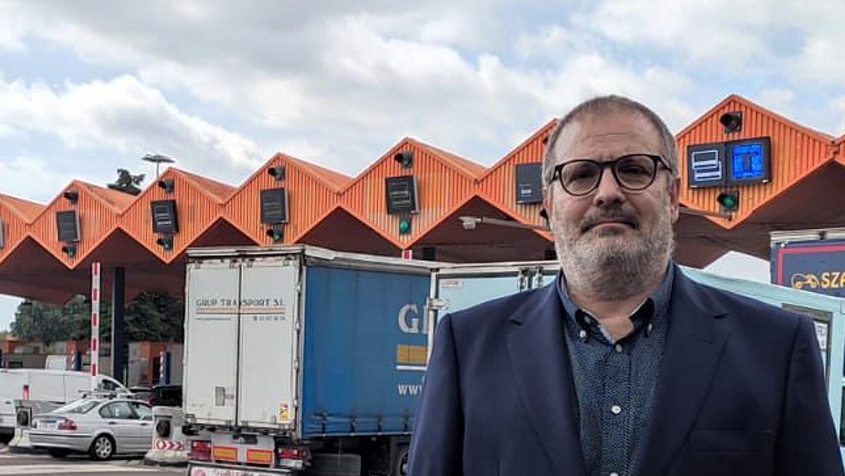 Antonio Martínez, presidente del Gremio de Transportes y Logística de Cecot.