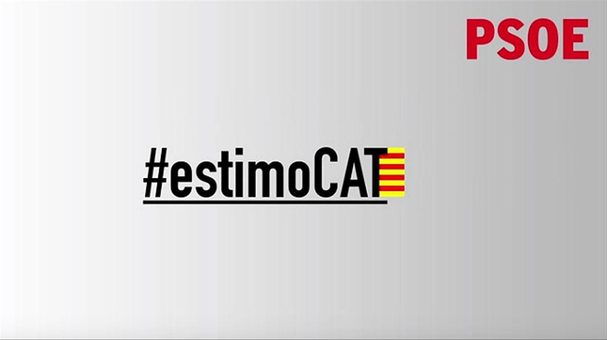 El mensaje de los líderes socialistas españoles con motivo de la Diada