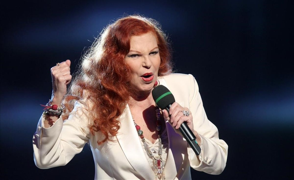 La cantante italiana Milva, en una imagen del año 2012.