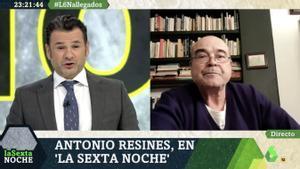 """Antonio Resines lanza una contundente petición al Gobierno: """"¡Que detengan a los que se manifiestan sin mascarilla!"""""""