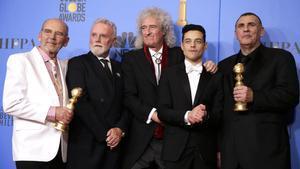 'Bohemian Rhapsody' (foto), 'Roma' y 'Green Book' se reparten la gloria en los Globos de Oro.