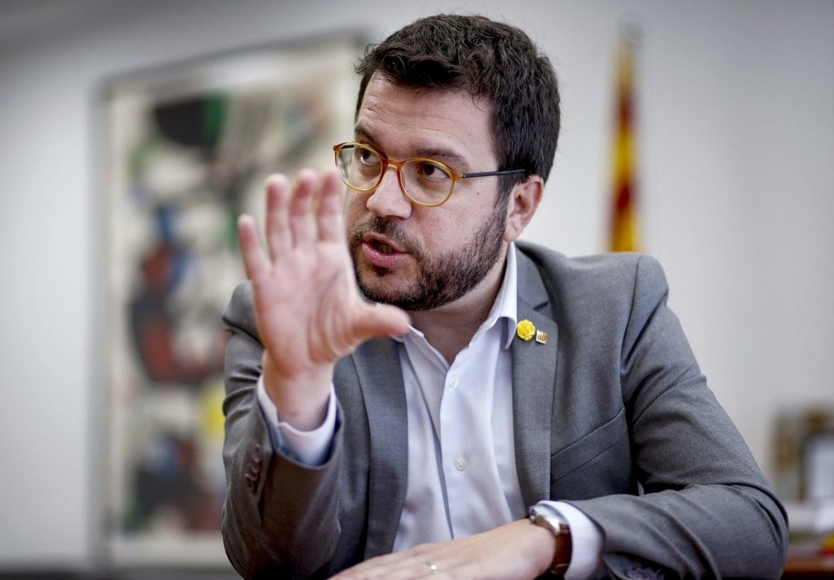 El vicepresidente del Govern y 'conseller' de Economía, Pere Aragonès.