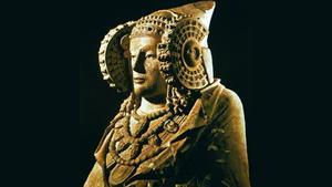 El busto de la Dama de Elche.
