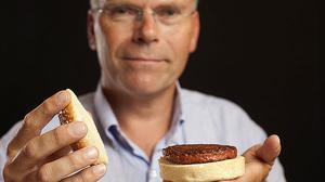 Creadala primera hamburguesa de laboratorio