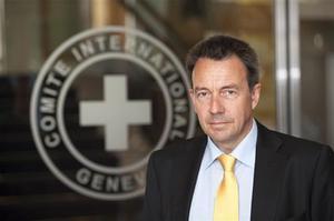 El presidente del CICR, Peter Maurer.