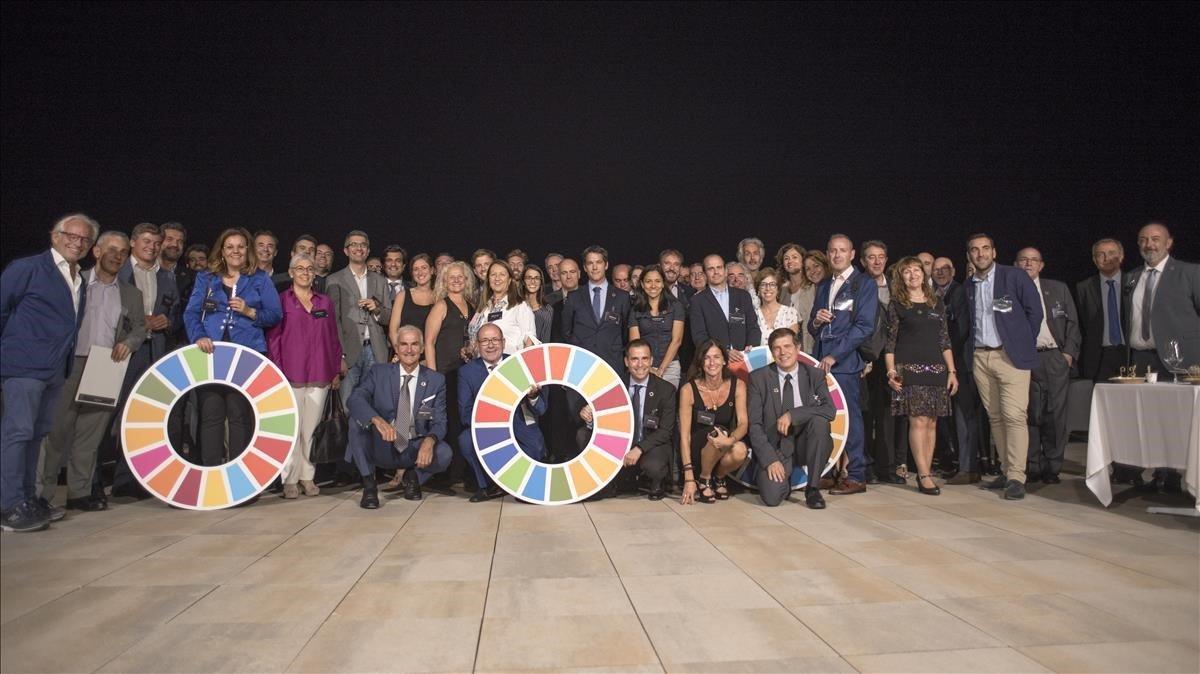 Participantes en el primer encuentro de pymes sobre los ODS organizado por EPI Industries.