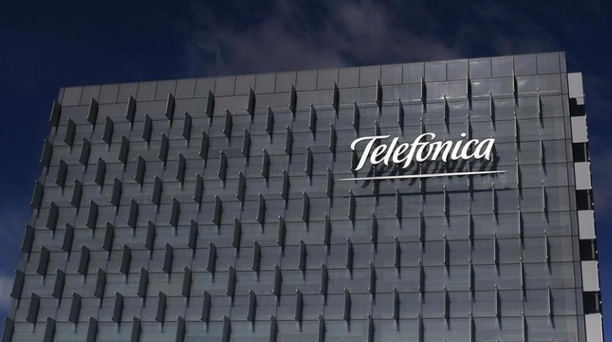 Sede central de Telefónica, en Madrid.
