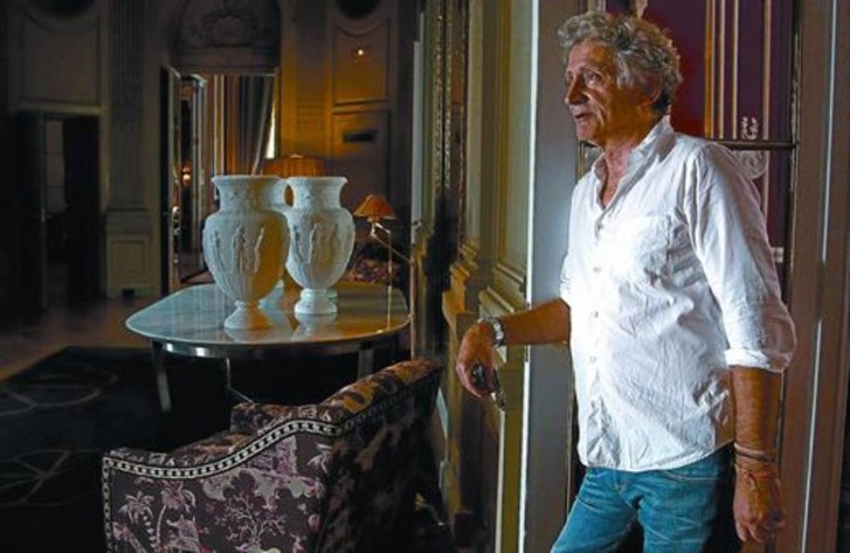 Antonio Gasset posa en un hotel de Madrid, esta semana.