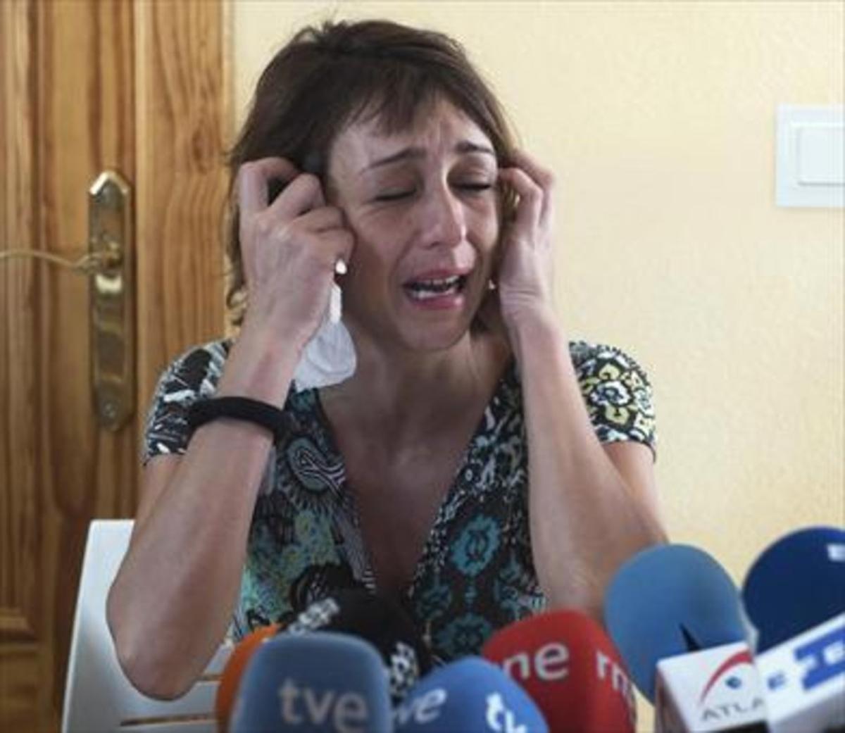Juana Rivas, el pasado 25 de julio.