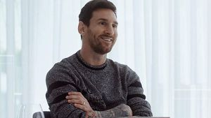 Messi, en la entrevista en La Sexta.