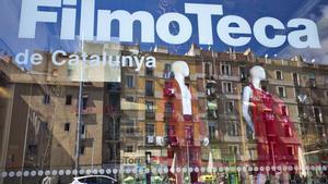 Imagen de la sede de la Filmoteca de Catalunya, en el Raval.