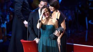 Beatriz Bodegas, productora de 'Tarde para la ira', gran vencedora de los Goya.
