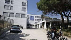 Instalaciones del instituto-escuela Costa i Llobera, uno de los centros educativos investigados.
