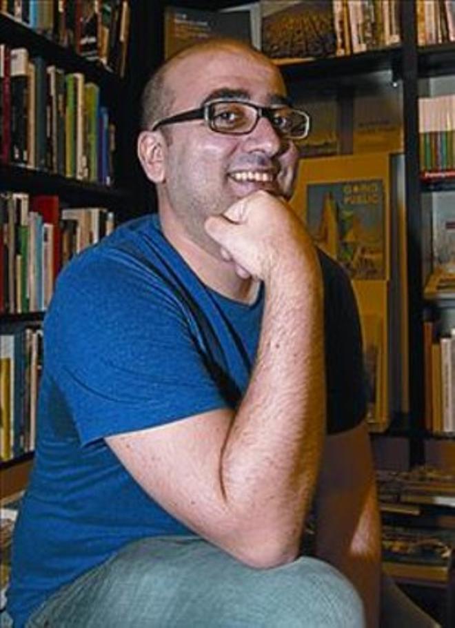 El dibujante Pablo Ríos.