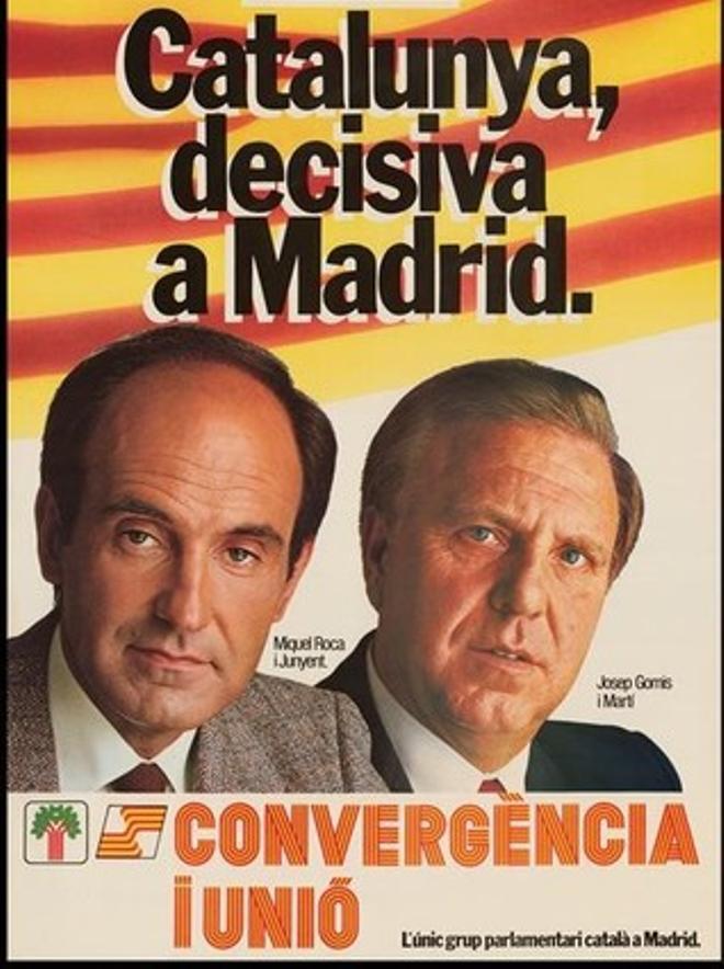 Cartell de CiU per a les eleccions generals del 1982.