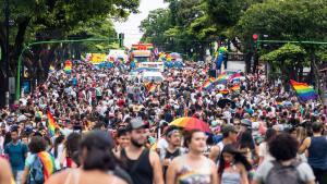 Marcha por el Orgullo Gay en Costa Rica.