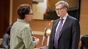 Bill Gates en la serie 'The Big Bang Theory'.