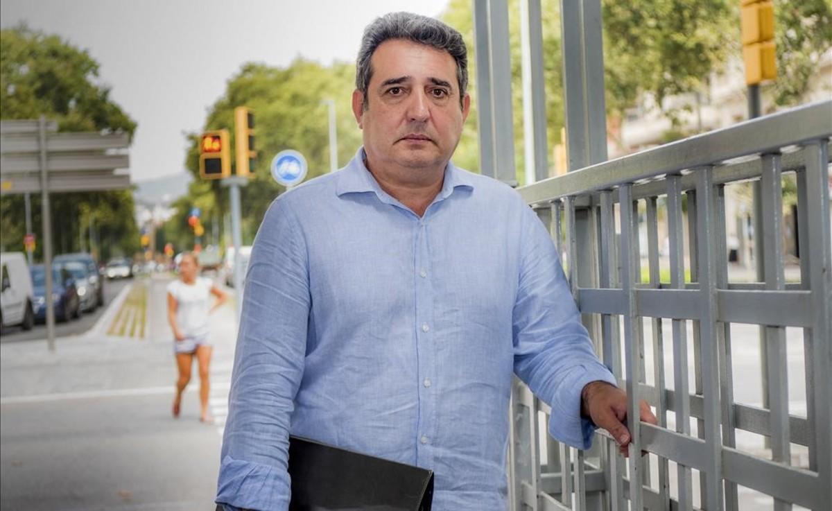Manuel Bustos, exalcalde de Sabadell, el juliol passat.