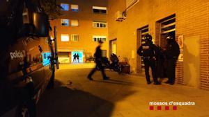 Operación antidroga de los Mossos en Barcelona y Girona.