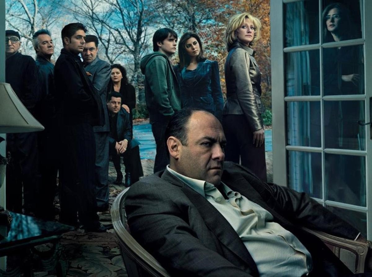 Imagen promocional de 'Los Soprano', considerada por la revista 'Rolling Stone' como la mejor producción televisiva de la historia.