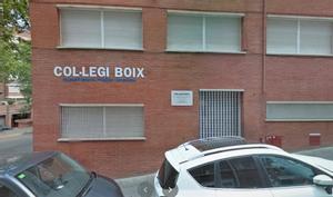 Imagen de archivo de la fachada del Col·legi Boix de Badalona.