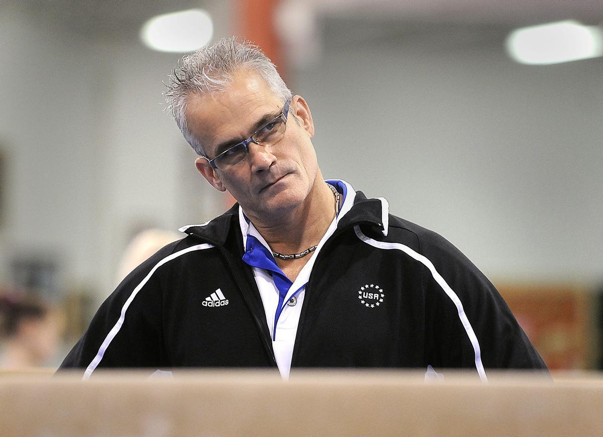 El exentrenador olímpico John Geddert, en una foto de archivo.