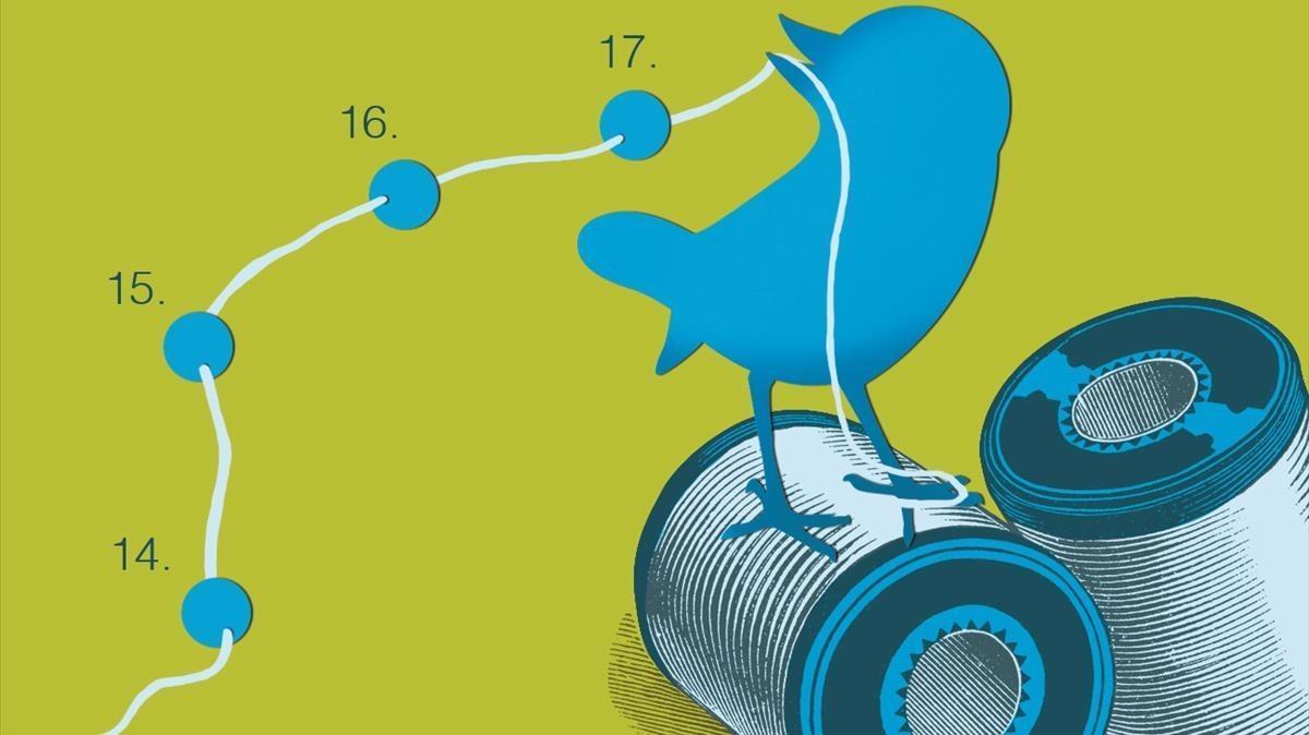 Los hilos de Twitter