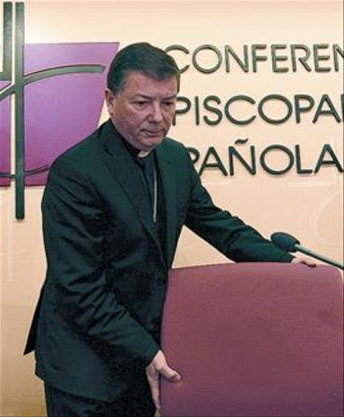 Portavoz episcopal 8 Martínez Camino, obispo auxiliar de Madrid, ayer.