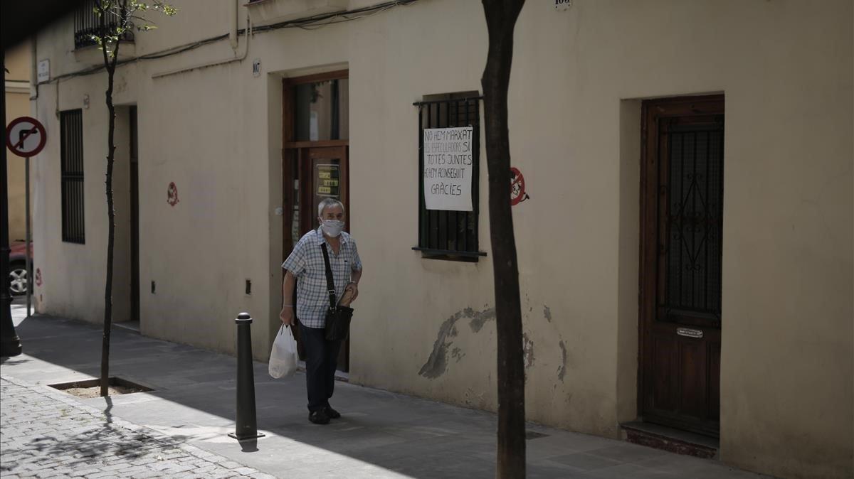 Barcelona dedica a masoveria urbana 8 cases comprades a un fons inversor
